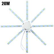 1 pcs YWXLIGHT 20W 40 SMD 5730 1600-1920 lm Cool White Decorative LED Ceiling Lights AC 220-240 V