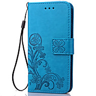 Luxury Lucky Clover Wallet Leather Flip Case For Samsung Galaxy J1/J1 2016/J1 Mini/J3/J510/J710