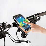ROSWHEEL® Sac de VéloSacoche de Guidon de Vélo Zip étanche Résistant à l'humidité Résistant aux Chocs Vestimentaire Sac de CyclismePVC