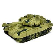 Tank Radiostyrd bil 2.4G Gul Grön Färdig att köra Tank Fjärrkontroll/Sändare Batteriladdare Batteri för bil Användarmanual