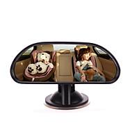 iztoss bebê espelho de carro banco de trás criança virada para trás à vista de carro ajustável bebê espelho retrovisor com ventosa
