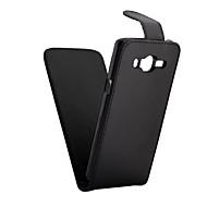 pu læder op ned flip mobil hud tilfælde dække for galaxy J3 (2016) / J5 (2016) / j1 (2016) / j1 es / j2 / J3 / j1 / J5 / J7