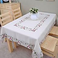 수 놓은 식탁보면 식탁보 리넨 식탁보 고전 175x350cm (* 137inch 70)