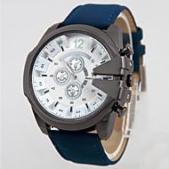 V6 Muškarci Ručni satovi s mehanizmom za navijanje Kvarc Vodootpornost Koža Grupa Crna Plava Smeđa Zelena Crn Braon Zelen Plava