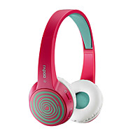 Original Rapoo S100 Fashion Bluetooth 4.1 Stereo Headset Replaceable Cover HiFi Headphones With Mic Rose