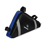 ROSWHEEL® 자전거 가방 2.2L자전거 프레임 백 방수 지퍼 / 방습 / 충격방지 / 착용할 수 있는 싸이클 가방 PVC / 의류 싸이클 백 사이클링 23*20*6