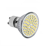 1 pcs  GU10 / GU5.3(MR16) / E26/E27 4W 60SMD  3528 2835  Warm White / Cool White MR16 Easy Install / Decorative LED