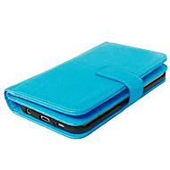 Qualitäts-PU-Leder-Brieftasche Holster Fall für Galaxie s7 edge / s7 / s6 Rand plus / s6 Rand / s6 / s5 / s4