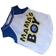 개 티셔츠 화이트 강아지 의류 여름 문자와 숫자