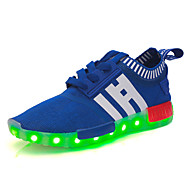 לבנים / לבנות-נעלי ספורט-טול-מעוגל-שחור / אדום / כחול נייבי / כחול ים-שטח / קז'ואל / ספורט-עקב שטוח