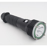 LED Flashlights/Torch LED 2 Mode 4800 Lumens Waterproof Cree L2 18650/26650CampingCaving / Diving/Boating / Cycling /