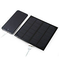 3W 5V USB Output Monocrystalline Silicon Solar Panel for DIY