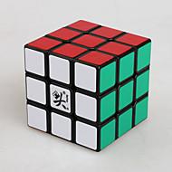 Dayan® Cube de Vitesse  3*3*3 Cubes magiques Noir Zhanchi Anti-pop ressort réglable ABS