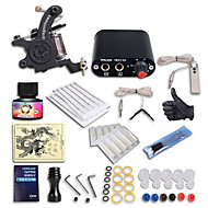 Dragonhawk® Starter Tattoo kit 1 Tattoo Machine Power Supply