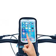 ROSWHEEL® 자전거 가방 1.3L자전거 핸들바 백 방수 지퍼 / 방습 / 충격방지 / 착용할 수 있는 싸이클 가방 PU 피혁 / 메쉬 / 의류 / 400D 나일론 싸이클 백 사이클링 21*10*6.5