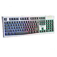 värikkäitä valoja mekaaninen kosketus langallinen usb vedenpitävä kannettavan työpöydälle pro valaistu tietokoneen näppäimistöt