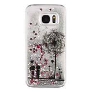 Mert Samsung Galaxy S7 Edge Folyékony / Átlátszó / Minta Case Hátlap Case Pitypang Kemény PC Samsung S7 edge / S7