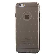Na Etui iPhone 6 / Etui iPhone 6 Plus Ultra cienkie / Przezroczyste Kılıf Etui na tył Kılıf Jeden kolor Miękkie TPU AppleiPhone 6s Plus/6