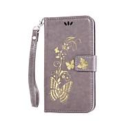 Mert HTC tok Pénztárca / Kártyatartó / Állvánnyal / Flip / Dombornyomott Case Teljes védelem Case Pillangó Kemény Műbőr HTCHTC Desire 826