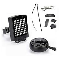 Svjetla za bicikle / Stražnje svjetlo za bicikl LED - Biciklizam Vodootporno / Može se puniti / Jednostavno za nošenje CR2032 / Drugo 120