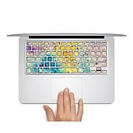 1 τμχ Προστασία από Γρατζουνιές Πλαστικές διάφανες Αυτοκόλλητο Εικόνα Καρτούν / Σούπερ Λεπτό / Ματ ΓιαMacBook Pro 15 '' με Retina /