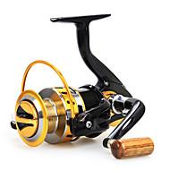 Carretes de lanzamiento 5.5:1 12 Rodamientos de bolas Intercambiable Pesca de Mar / Pesca de baitcasting / Pesca de agua dulce-Baitcast