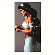 נסיכת קוספליי פאת שיער אלדין אנימה יסמין פאה שחורה ארוכה, נשים ליל כל הקדושים קלאסיים cosplay פאה