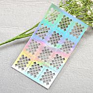 1pcs New Hollow Sticker Colorful Fruit Rose Flower Image Nail Manicure Design JV211-215
