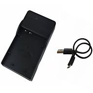 nikon P900'ler p610s P600 s810c için el23 mikro usb mobil kamera pil şarj cihazı