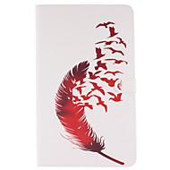 Mert Samsung Galaxy tok Kártyatartó / Pénztárca / Állvánnyal / Flip / Minta Case Teljes védelem Case Toll Puha Műbőr SamsungTab S2 9.7 /