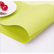 Table Mats Fashion Wild Placemat Swastika Grid Casa E Ufficio / Orologi multiuso / Alta qualità Plastica Utensili speciali