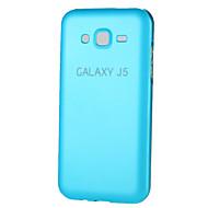 Για Samsung Galaxy Θήκη Other tok Πίσω Κάλυμμα tok Μονόχρωμη Μεταλλικό Samsung J7 / J5 / Grand Prime / Grand 2 / Core Prime