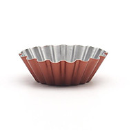 Us New Small Ripple Round Tarts Mold Chrysanthemum Flower-Shaped Cookies Cup FDA Champagne