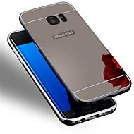 Na Samsung Galaxy S7 Edge Galwanizowane Kılıf Etui na tył Kılıf Jeden kolor PC Samsung S7 edge / S7 / S6 edge plus / S6 edge / S6