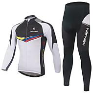 KEIYUEM Rower/Kolarstwo Topy Damskie / Uniseks Z krótkim rękawemWodoodporny / Oddychający / Quick Dry / Rain-Proof / Wodoodporny zamek /