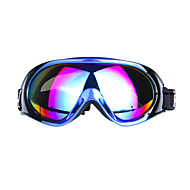 mannelijke en vrouwelijke professionele single layer anti fog lens ski-bril