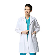 Medical White Coat Long Sleeve Thickening Male XL