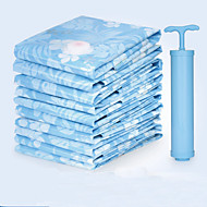 Vacuum clothes quilt compression Thickened 12 wire storage bag  (Large 100x70cm 5-piece 1 manual pump)