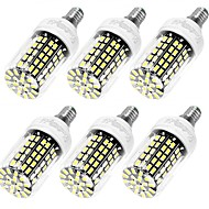 10W E14 / E26/E27 LEDコーン型電球 T 108 SMD 5733 950 lm 温白色 / クールホワイト 装飾用 交流220から240 V 6個