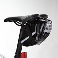 ROSWHEEL® 自転車用バッグ自転車用サドルバッグ 防水 / 耐衝撃性 / 耐久性 / 多機能の 自転車用バッグ PUレザー / 布 サイクリングバッグ サイクリング 18*9.5*8
