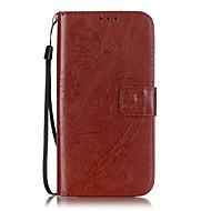 pu borboletas material de couro em relevo caixa do telefone para Samsung Galaxy S7 edge / S7 / S6 borda plus / borda S6 / S6 / S5 / S4 /