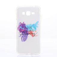 Voor Samsung Galaxy hoesje Patroon hoesje Achterkantje hoesje Camouflage Kleur Zacht TPU Samsung Grand Prime / Grand Neo / Core Prime