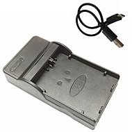 캐논 EOS 450D 500D 1000D kissx2의 kissx3에 대한 lpe5 마이크로의 USB 모바일 카메라 배터리 충전기
