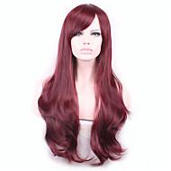 Fala Harajuku pelucas naturalne peruki peruka pelo syntetyczne stali żaroodpornej kobiet PERRUQUE peruki pelucas sinteticas