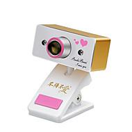 USB 2.0 webcam CMOS 0.8m 1024x768 30fps oro