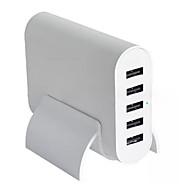 Chargeur Secteur Pour iPad Pour Téléphone Pour iPhone 5 Ports USB Prise US Blanc