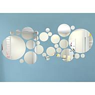 3D ウォールステッカー プレーン・ウォールステッカー / ミラー・ウォールステッカー 飾りウォールステッカー,Acrylic 材料 取り外し可 / 再利用可 ホームデコレーション ウォールステッカー・壁用シール