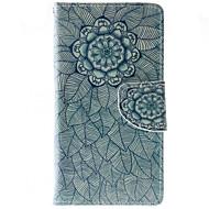 Full Body Wallet / Korttipaikka / Iskunkestävä / Pölynkestävä / telineellä Mandala Tekonahka Pehmeä Wallet/With Stand Tapauksessa kattaa
