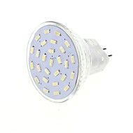 4 G4 / GU4(MR11) LED-spotlights MR11 27 SMD 3014 400 lm Varmvit / Kallvit Dekorativ DC 12 / AC 12 V 1 st