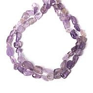 beadia 10-20mm oregelbunden naturliga ametist sten pärlor 38cm / str (ca 26pcs)